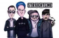 24. 2. - 007 -  Straightline (DE) - skatepunk/thrash + support