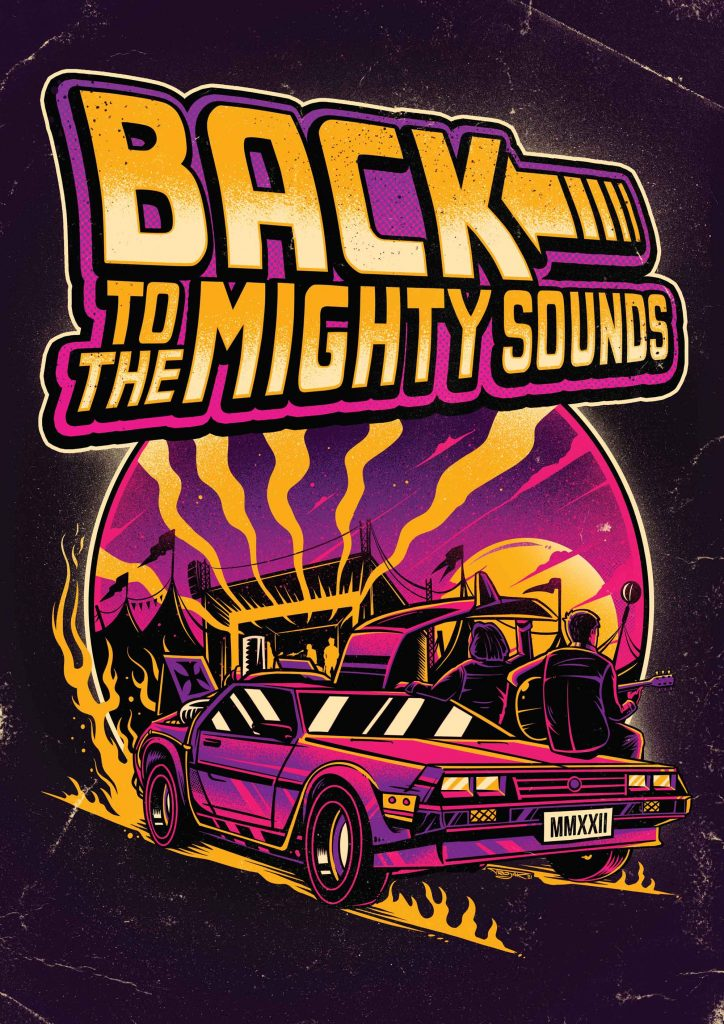 back to the mighty sounds poster